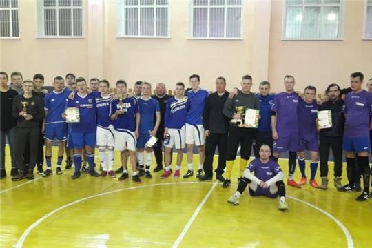 Определены победители Открытого Чемпионата города Шумерля 2019 года по массовому мини-футболу (футзалу)