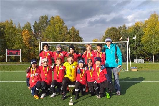 Ибресинские юные футболисты стали чемпионами Чувашии