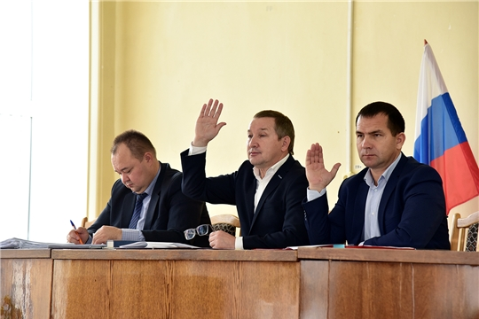 Состоялось 41 заседание Собрания депутатов Ибресинского района 6 созыва