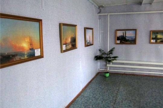 В музее открылась передвижная выставка «Певец моря – Иван Айвазовский