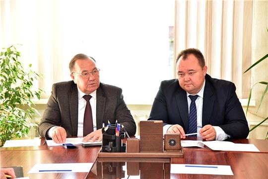 Ибресинский район с рабочим визитом посетил главный федеральный инспектор по Чувашской Республике Геннадий Федоров