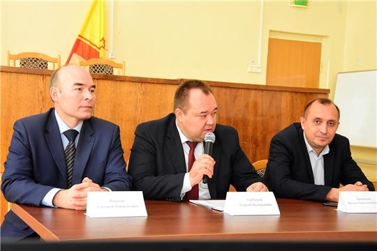 Выпускники Чувашской сельхозакадемии на встрече с учащимися школ Ибресинского района