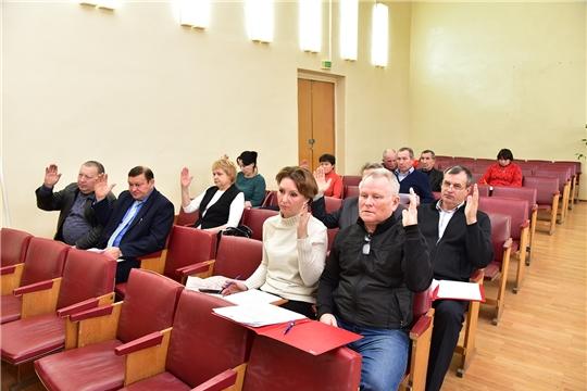 Состоялось очередное заседание Ибресинского районного Собрания депутатов 6 созыва