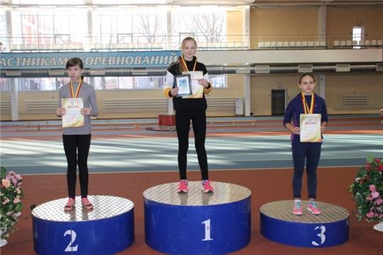 Павлова Ангелина заняла первое место на республиканских соревнованиях по легкой атлетике