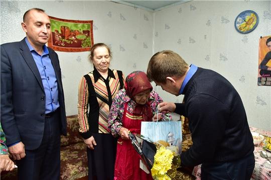 90-летие отметила жительница села Новое Чурашево Татьяна Яргаева