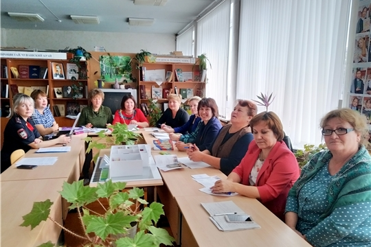 Состоялся семинар заместителей директоров по воспитательной работе и старших вожатых школ Ибресинского района