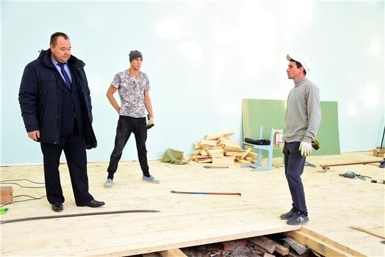 Завершается ремонт районного дома культуры