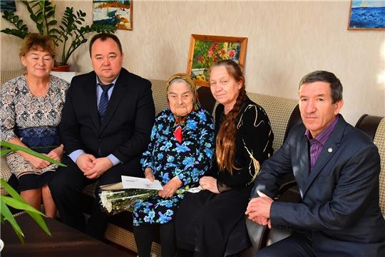 95-летие отметила жительница поселка Ибреси Раиса Антоновна Петрова