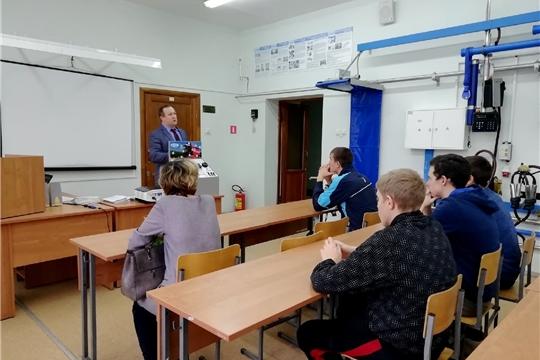 Учащиеся школ Ибресинского района посетили Чувашскую государственную сельхозакадемию