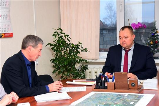 В Ибресинском районе состоялось совещание с руководителями коммунальных служб района