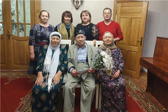 Житель п. Ибреси Расик Садыкович Алимов отметил 90-летний юбилей