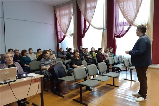 В Ибресинском районе прошли классный час для учащихся старших классов, обучающий семинар для педагогов, лекция для родителей в рамках проекта «Школа для родителей» Совета отцов Чувашии