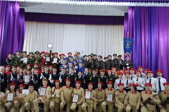 Активисты Ибресинской СОШ №1 приняли участие в профильной смене регионального отделения «ЮНАРМИЯ»