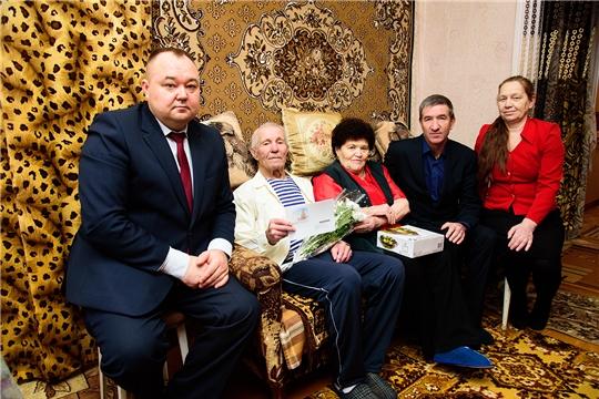 Житель п. Ибреси Валентин Петрович Скворцов отмечает 90-летний юбилей