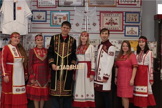 Сотрудники редакции «Тăван Ен» провели фотосессию в национальных костюмах