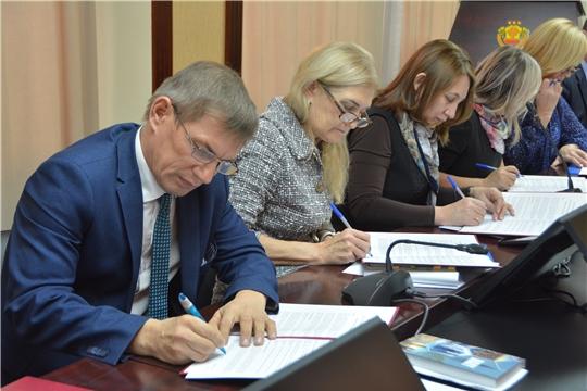 Техникумы Чувашии подписали Кодекс добросовестных практик