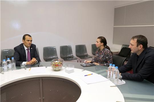 Глава Чувашии Михаил Игнатьев дал интервью международному информационному агентству «Россия сегодня»