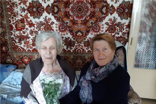 Жительнице Калининского района исполнилось 90 лет
