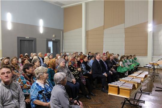 Калининский район: Торжественное мероприятие посвященное Международному дню пожилых людей
