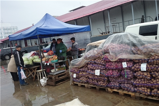 В Чебоксарах завершил работу месячник по продаже сельхозпродукции «Дары осени»
