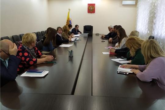 В Калининском районе состоялось первое заседание Комиссии по проведению Всероссийской переписи населения 2020 года