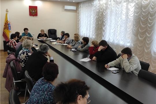 В Администрации Калининского района проведена очередная встреча с ветеранскими и общественными организациями