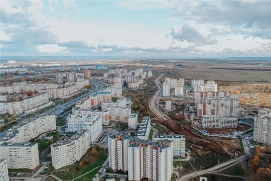В Чебоксарах началось строительство новой дороги