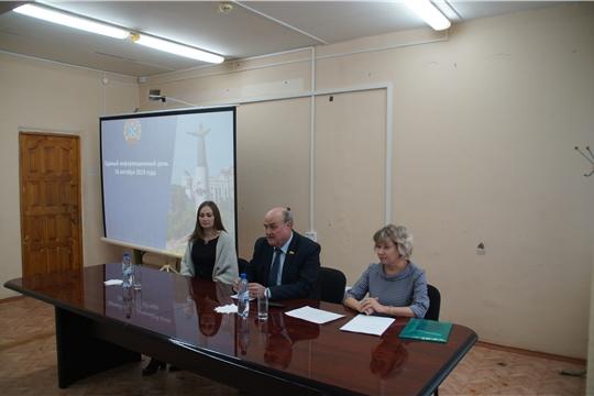 В Калининском районе в рамках Единого информационного дня состоялась встреча с сотрудниками ООО «Миконт»