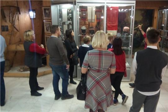 Подростки Калининского района посетили Чувашский национальный музей
