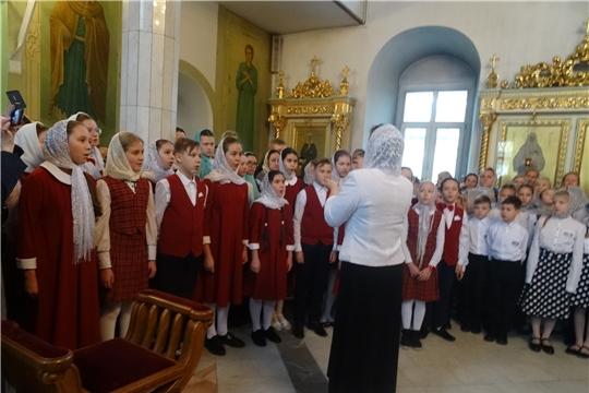 Учащиеся детской музыкальной школы Калининского района стали участниками Хорового собора