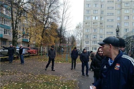 В Калининском районе г. Чебоксары проведен обход территорий