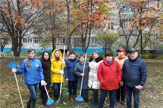 Калининский район – за чистый город: итоги экологического месячника