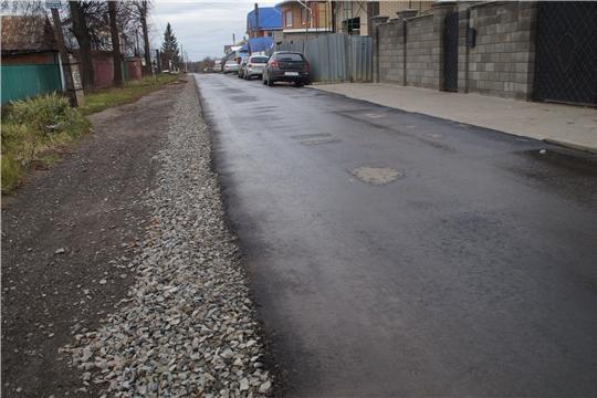 Инициативное бюджетирование: В Чебоксарах ведется капитальный ремонт дорог частного сектора