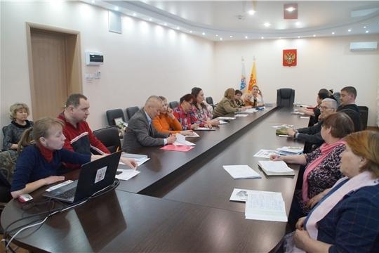 Калининский район: с председателями ТОС состоялось еженедельное совещание