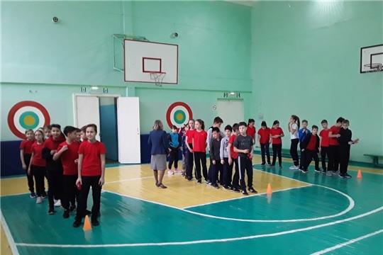 Школьников Калининского района г.Чебоксары объединили «Веселые старты»