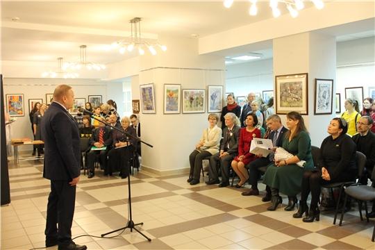 В Чебоксарах открылась выставка «Традиции творчества» посвященная 30-летию Чебоксарской детской художественной школы №6 имени Акцыновых