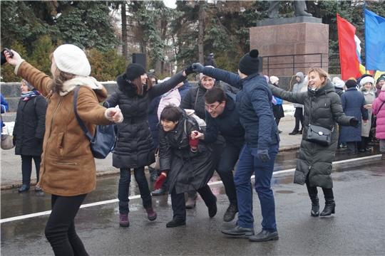 Калининский район столицы Чувашии присоединился к празднованию Дня народного единства