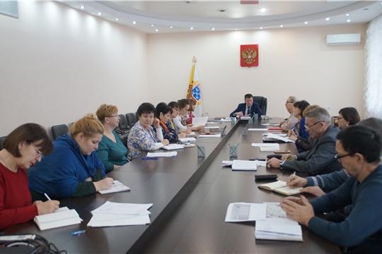 В администрации Калининского района города Чебоксары состоялась еженедельная планерка