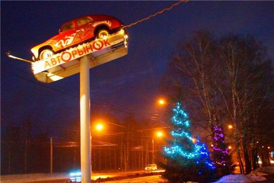 Предприятия и учреждения Калининского района готовы встретить Новый год яркими огнями