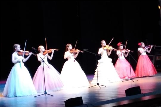 Ансамбль скрипачей «Калейдоскоп» - лауреат «Фестиваля Фестивалей»