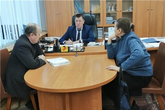 Калининский район: в Общероссийский день приёма граждан со своими вопросами обратилось 10 человек