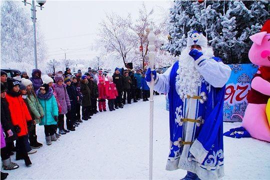 Администрация Калининского района приглашает на новогодние праздничные мероприятия