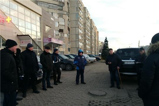 В Новоюжном районе г.Чебоксары состоялся субботний обход территорий