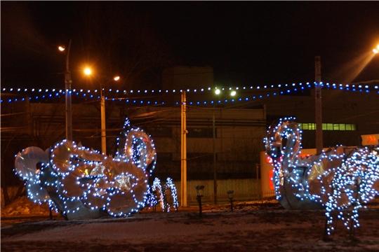 Калининский район встретит Новый год в ярких красках