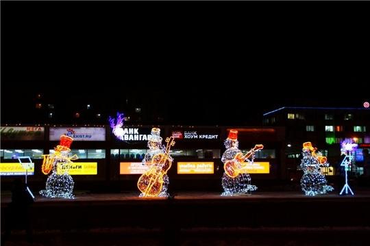 Калининский район: для жителей и гостей столицы выступает «Квартет снеговиков»