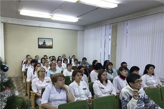 Единый информационный день: сотрудникам Городской детской клинической больницы - о самом актуальном