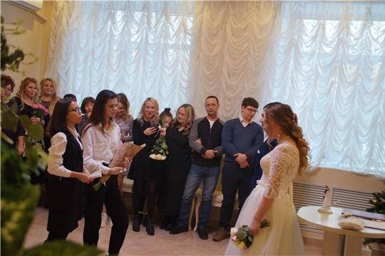 В отделе ЗАГС Калининского района прошел День открытых дверей