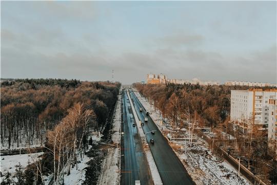 По проспекту Ивана Яковлева в Чебоксарах открыто движение для автотранспорта, включая пассажирский