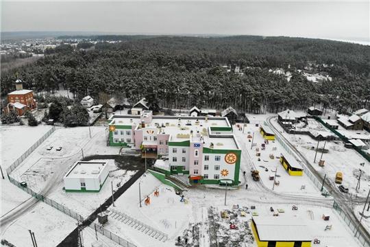 В Чебоксарах в один день открыли детские сады в Новом городе, Университетском-2, Сосновке