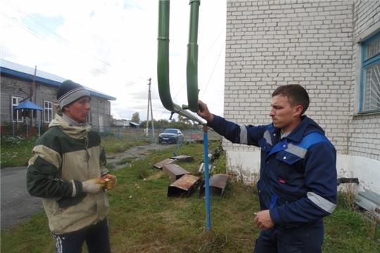 Ремонтные работы в Ямашевском сельском  спортзале  продолжаются